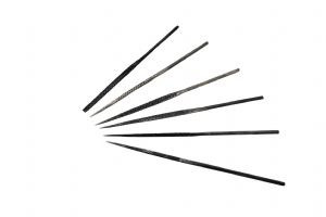 6 Piece 140mm Needle Rasp File Set for Wax / Wood Work, Hobby, Craft Tools. S7843